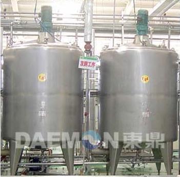 二.发酵罐结构特性 1.可在线cip清洗,sip灭菌( 121℃/0.1mpa). 2.