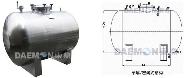 卧式储罐结构特性 1
